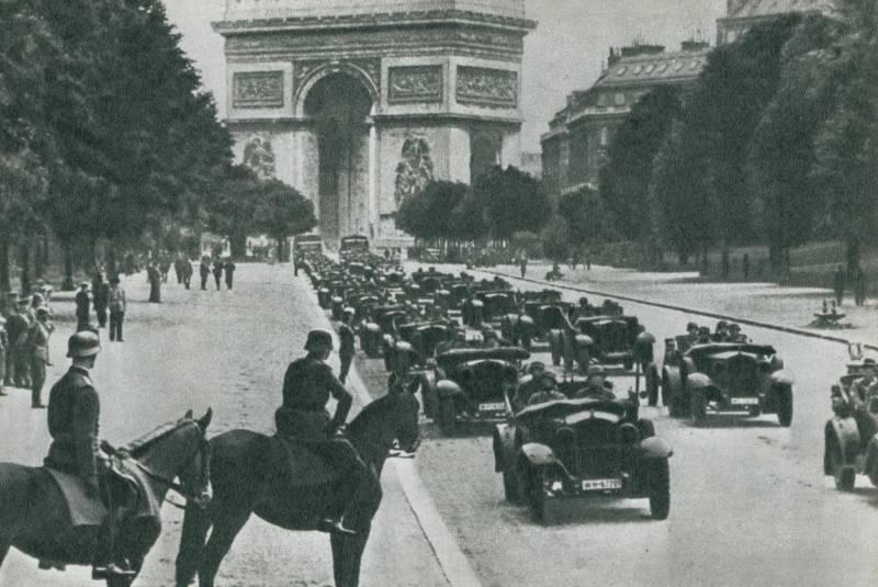Как Гитлер в 1940 году покорял Европу