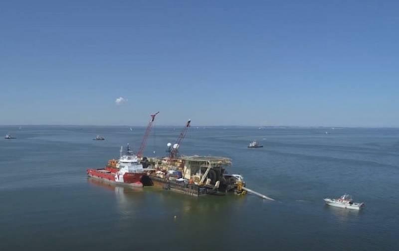 Немецкие экологи намерены остановить строительство газопровода «Северный поток - 2»