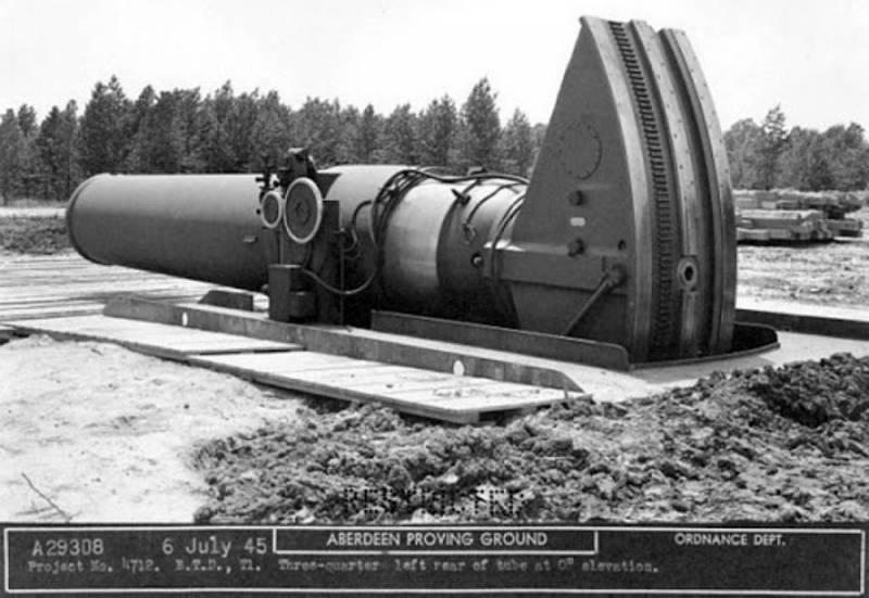 Самое крупное орудие в истории, которое никогда не воевало. Мортира Little David