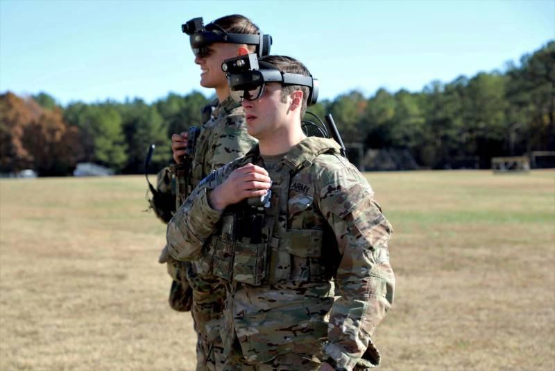 Пехотная система дополненной реальности IVAS (США)