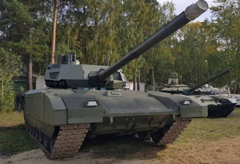 Ажиотаж вокруг танка Т-14 «Армата» затихает: о возможных причинах