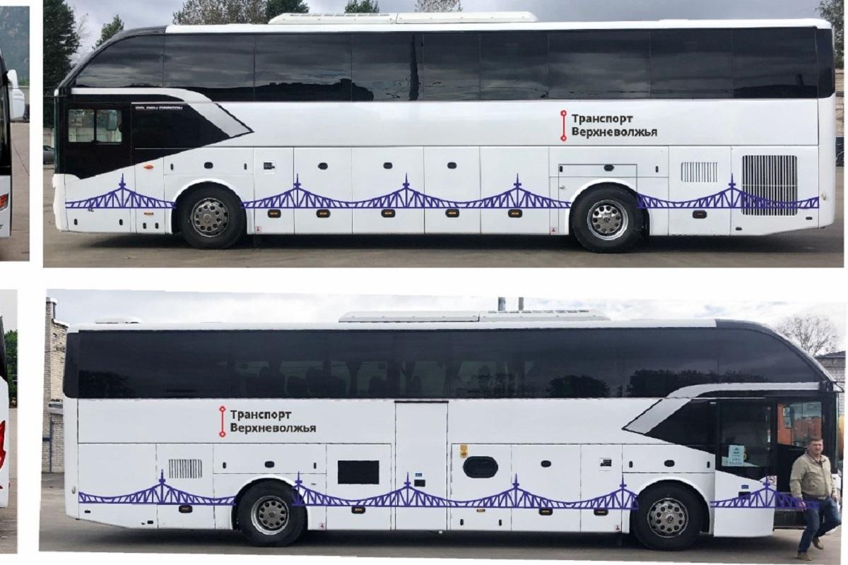 Стал известен будущий дизайн междугородних автобусов 'Транспорта Верхневолжья'
