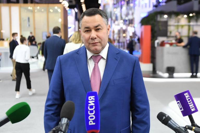 Игорь Руденя об итогах ПМЭФ-2021: «Очень результативный форум для тверского региона»