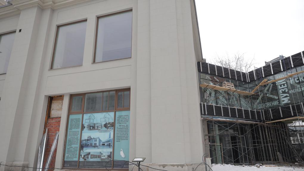Открытие центра «Эрмитаж-Урал» перенесли в седьмой раз. Новая дата