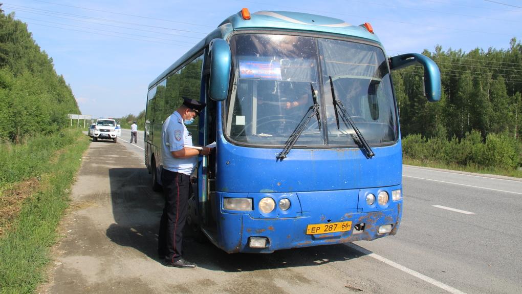 После ДТП с семью погибшими в Лесном полицейские проверили автобусы на дорогах области. Итоги рейда