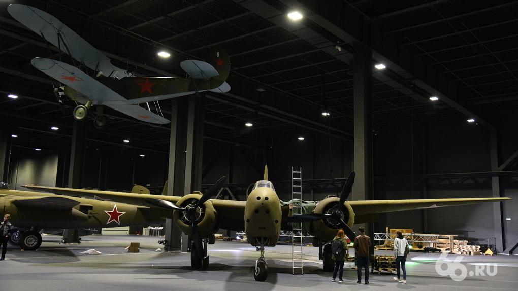 Сотрудники нового авиамузея УГМК подготовили к его открытию два редких самолета. Их истории