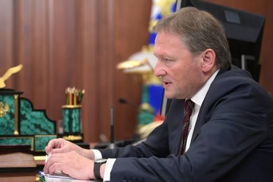 Борис Титов намерен покинуть пост бизнес-омбудсмена в 2022 году