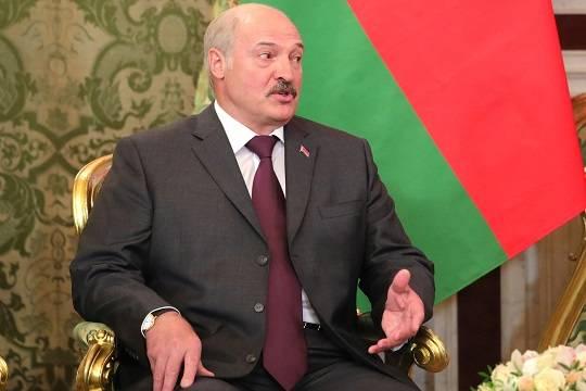 Лукашенко прокомментировал инцидент с авиалайнером Ryanair