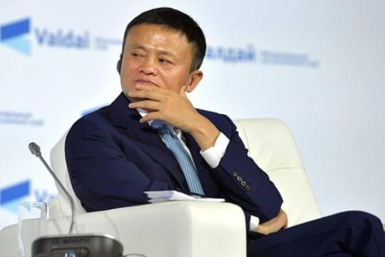 Рекордный штраф Alibaba увеличил состояние Джека Ма