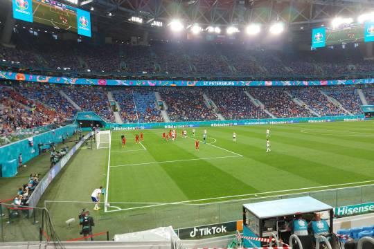 Сборная России проиграла команде Бельгии в первом матче на Евро-2020