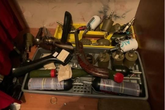 В доме стрелка из Мытищ нашли склад оружия