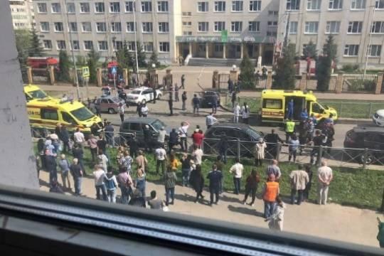 В Казани в результате вооружённого нападения на школу погибли 8 человек, стрелок задержан