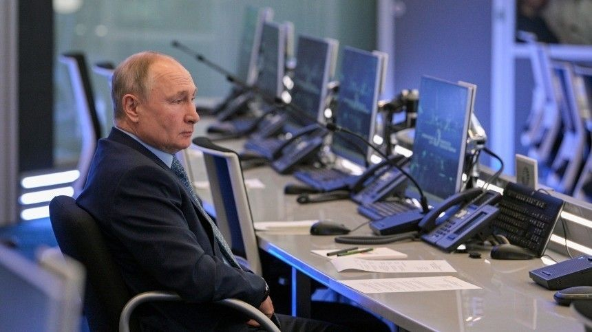 Как Путин оценил координационный центр правительства РФ?