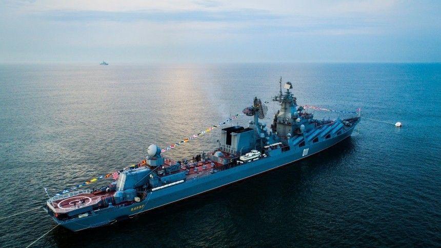 Экипажи российских военных кораблей проверили на бдительность в рамках учений