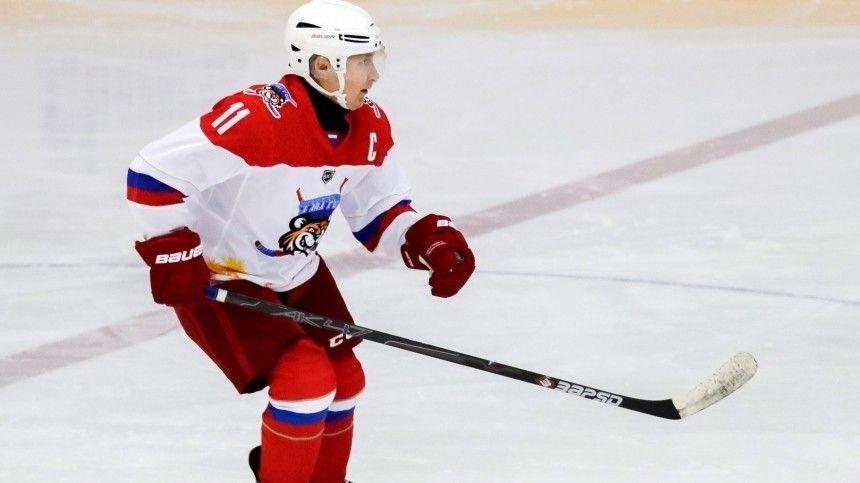 Путин записал видеообращение к участникам Ночной хоккейной лиги