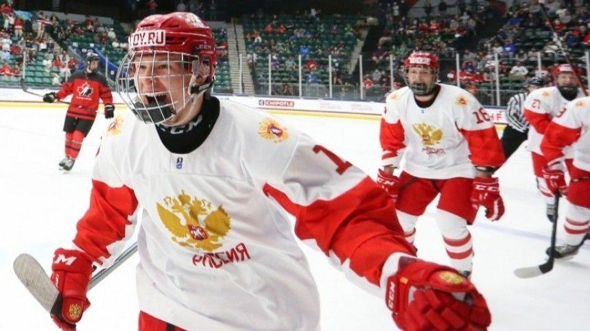 Россия уступила Канаде в финале ЧМ по хоккею среди юниоров