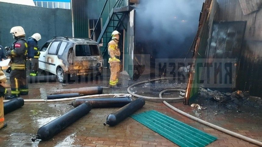 Пять человек погибли при пожаре в сварочном цехе в подмосковных Мытищах