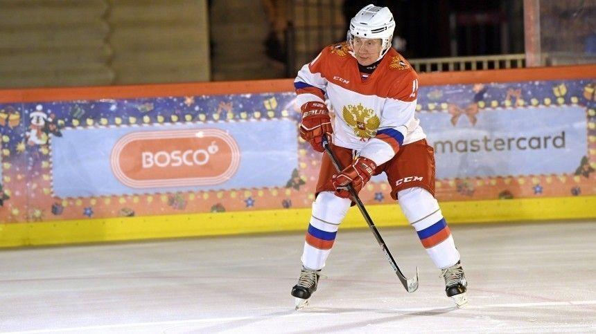 Песков рассказал, выйдет ли Путин на лед в матче Ночной хоккейной лиги