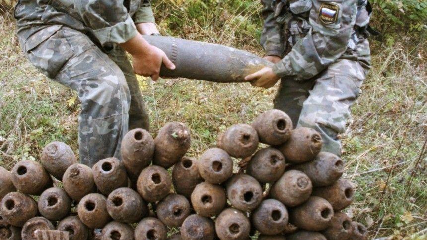 Саперы уничтожили схрон боеприпасов в Ростовской области