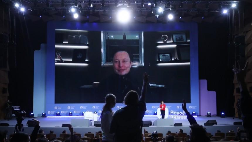 Маск призвал Россию и США к налаживанию контактов и диалога