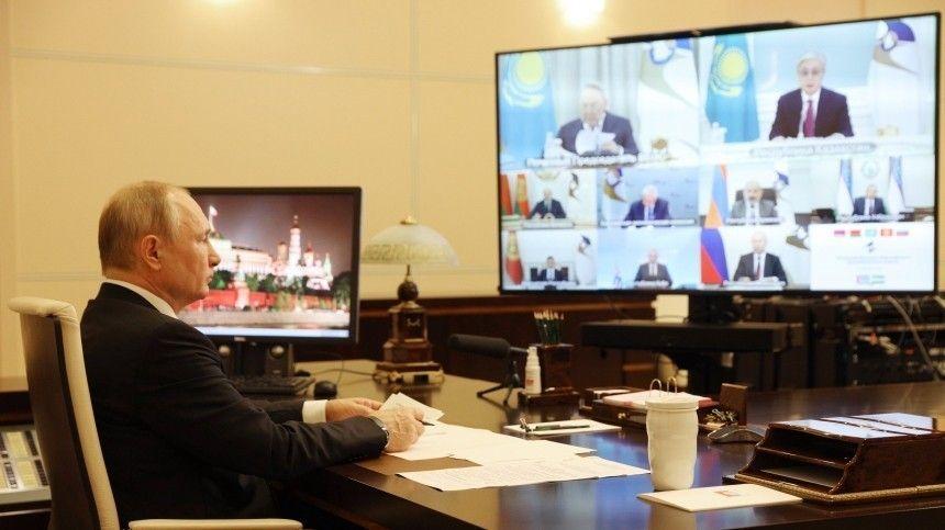 «Чего мы боимся?» — Путин обсудил с лидерами ЕАЭС возобновление поездок