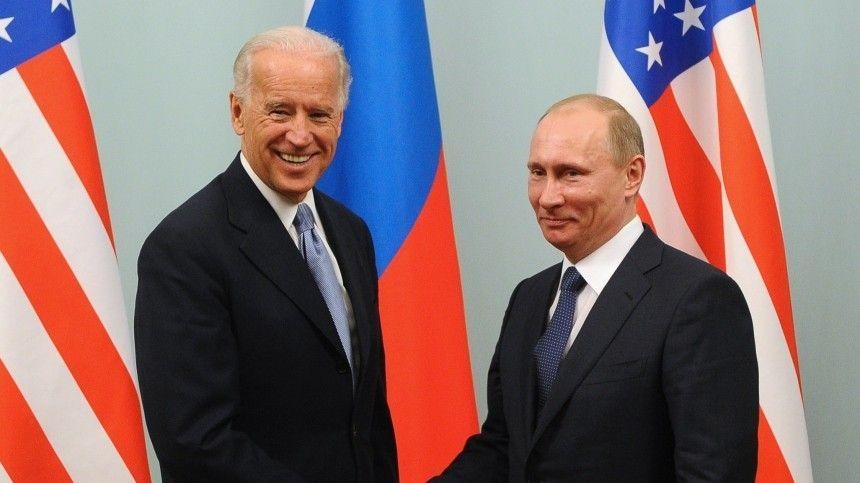 Названо вероятное место встречи Владимира Путина и Джо Байдена