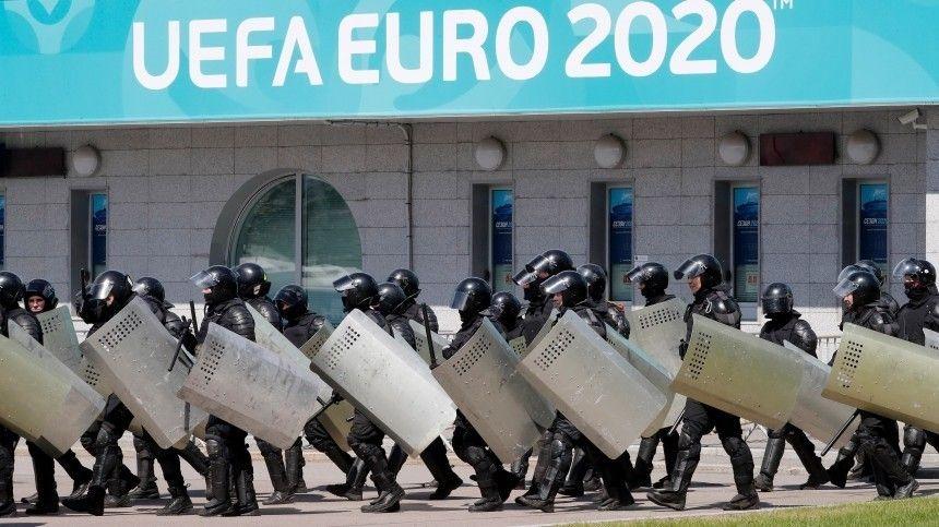 На суше, под землей и на воде: Росгвардия проверила готовность Петербурга к «Евро-2020»