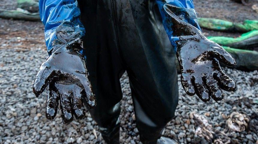 Названа предварительная причина разлива нефтепродуктов в Туапсе