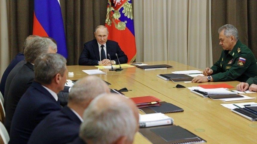 Путин: российская армия должна быть компактной, но эффективной