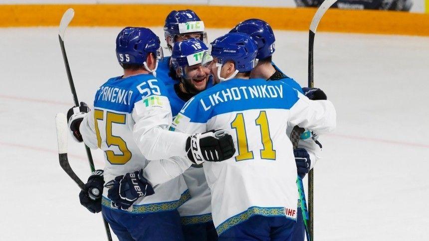 Казахстан разгромил Италию со счетом 11:3 в матче ЧМ по хоккею