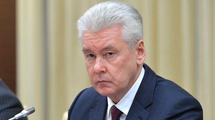Собянин предупредил о возможном заражении после прививки от коронавируса