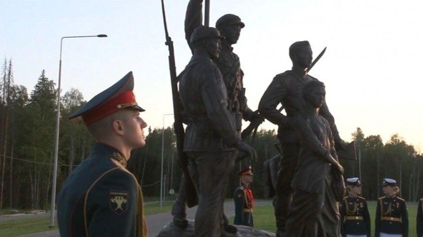 Шойгу открыл Аллею Союзников народа СССР в Великой Отечественной войне