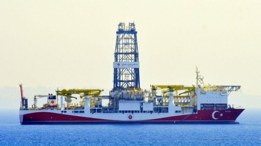 Турция обнаружила новое месторождение газа в Черном море