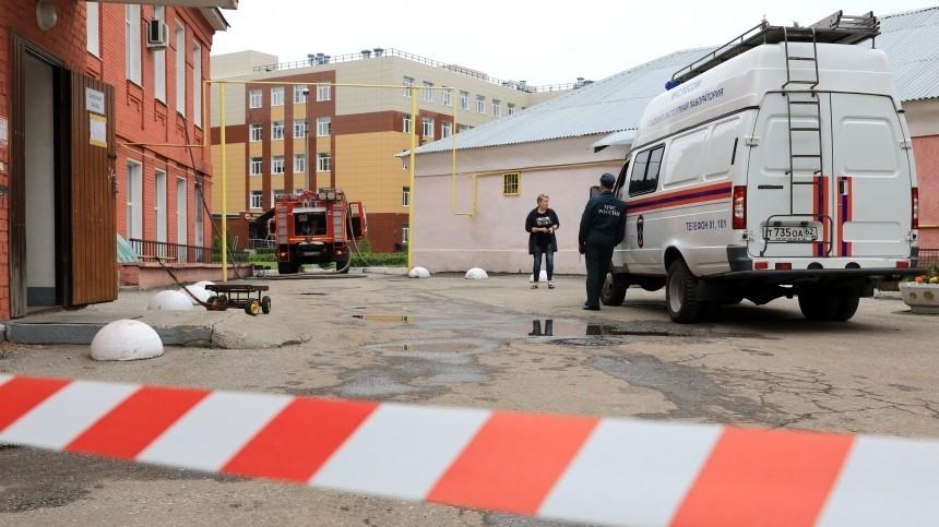 Пытавшихся потушить пожар в рязанской больнице медсестер намерены наградить
