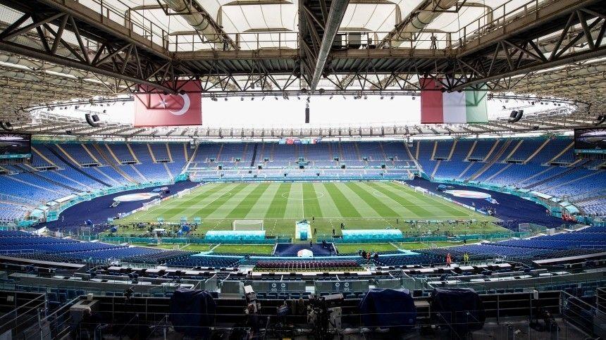 Рим готовится к матчу открытия Чемпионата Европы по футболу