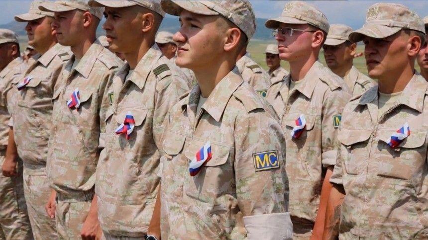 В Нагорном Карабахе прошел концерт для миротворцев в День России