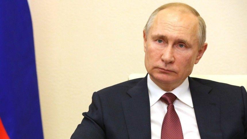 Владимир Путин сделал прививку от коронавируса