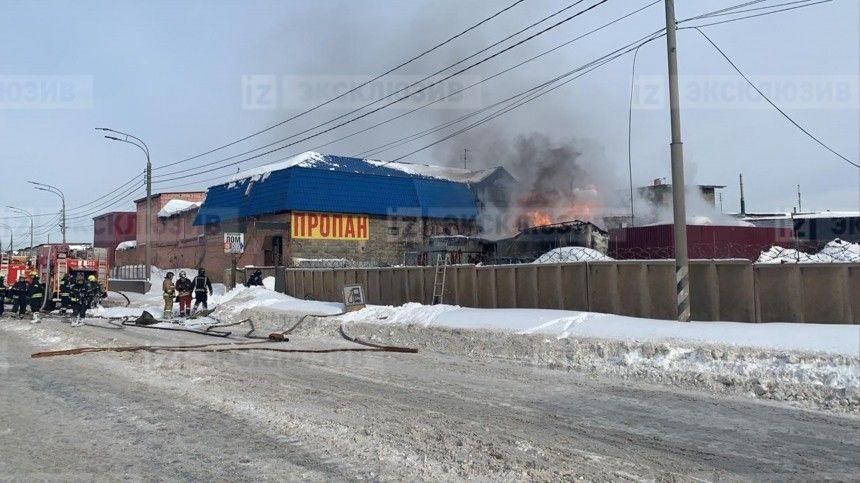 Момент взрыва резервуаров с топливом в Новой Москве попал на видео