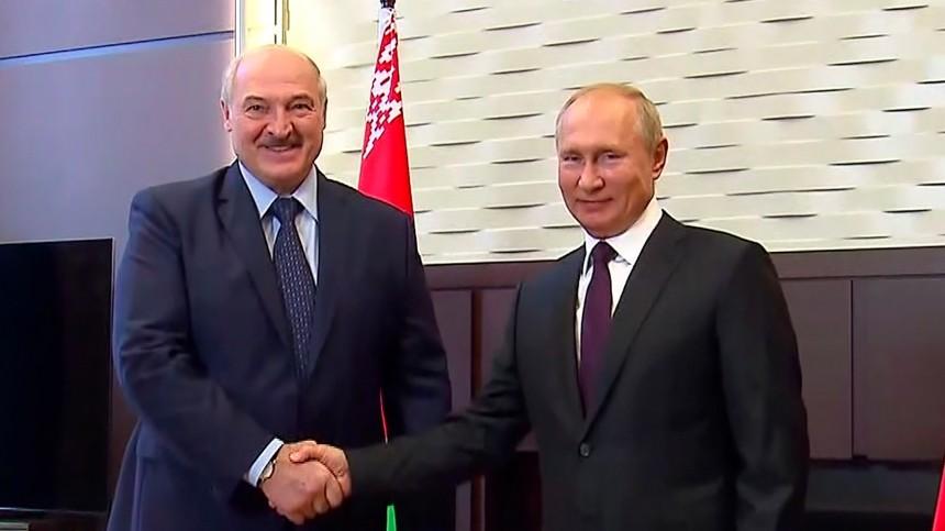 Лукашенко рассказал, когда встретится с Путиным
