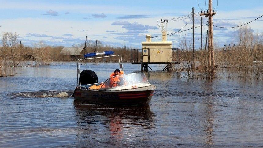 Сильнейшие паводки зафиксированы в центральной части России