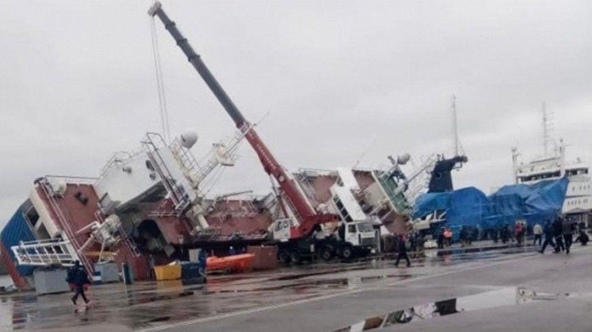 «Это был крен»: пострадавший в ЧП на заводе «Пелла» о перевернувшемся корабле
