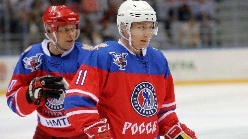 «Прекрасный пример для всех»: Буре назвал срок за который Путин освоил хоккей