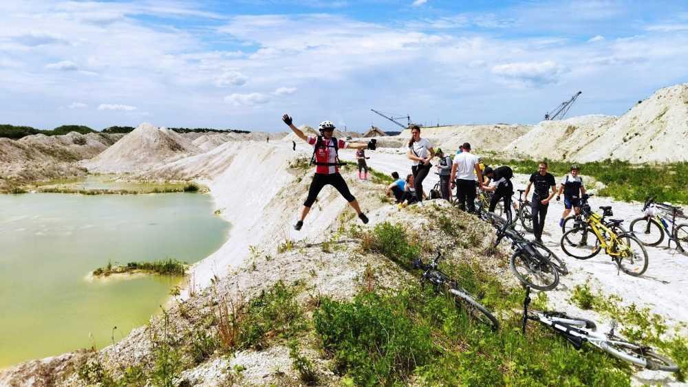 Велотуристы совершили путешествие по брянским Мальдивам
