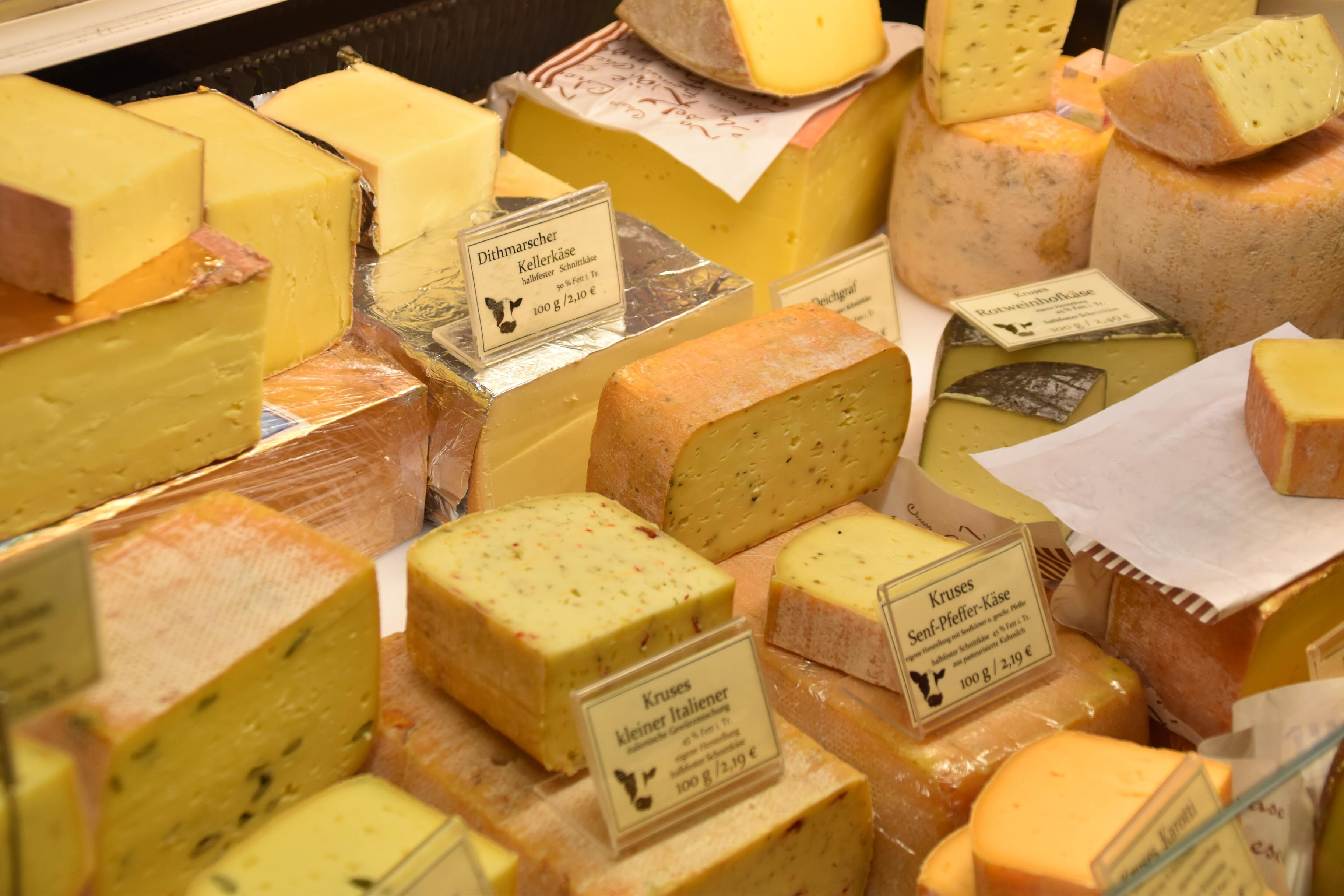Из-за хакерской атаки в сети супермаркетов закончился сыр