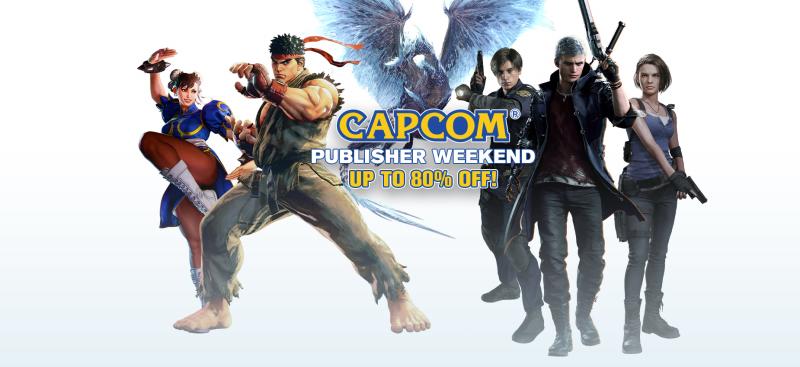 Resident Evil, Street Fighter и другие игры Capcom продаются с большими скидками