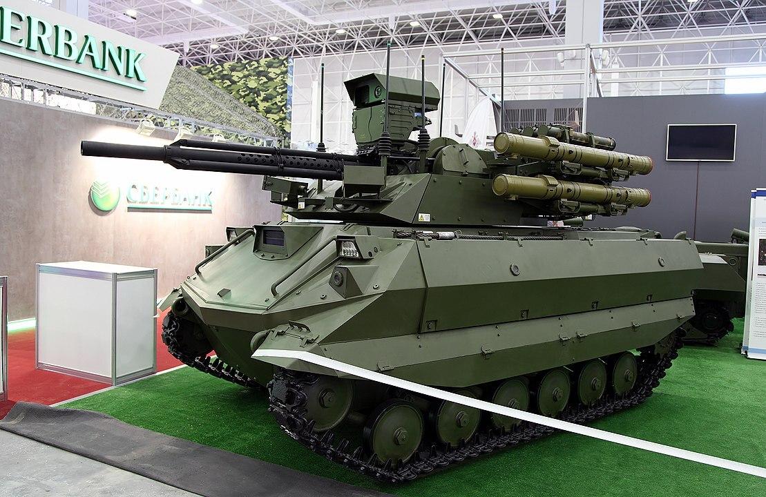 Россия увеличит число военных роботов