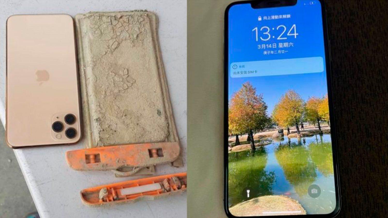 iPhone 11 продолжил работать после года на дне озера