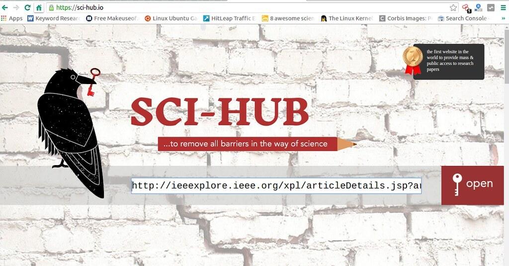 ФБР США взломало личный аккаунт владельца сайта с бесплатными научными статьями