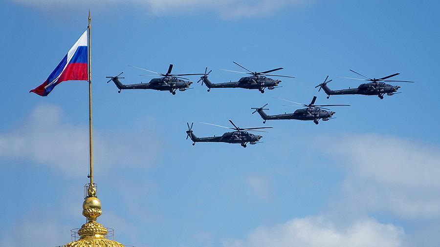 США обогнали Россию по количеству боевых вертолётов