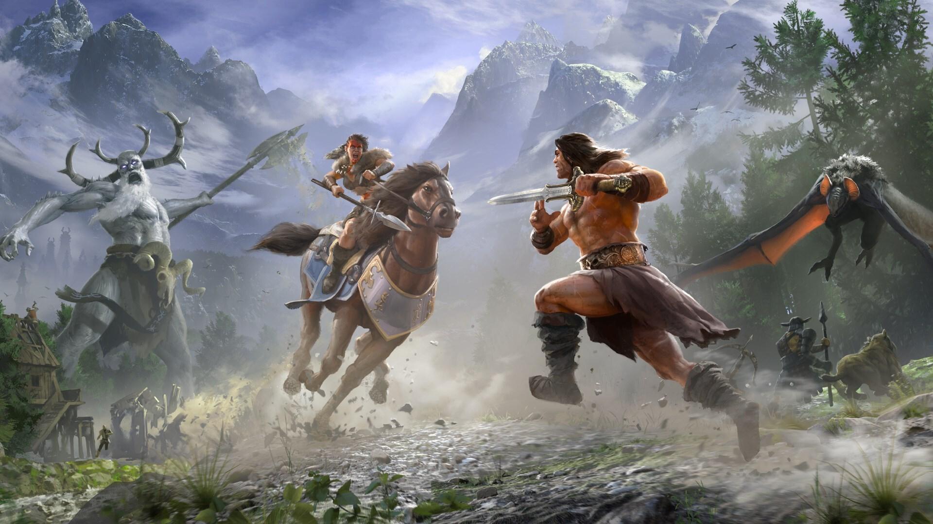 Многопользовательский симулятор выживания Conan Exiles стал временно бесплатным
